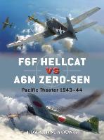 F6F Hellcat vs A6M Zero-sen: Pacific Theater 1943-44 - Duel 62 (Paperback)