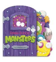Peek-a-Boo Monsters - Charles Reasoner Peek-a-Boo Books (Board book)