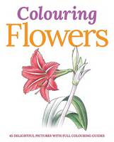 Colouring Flowers (Paperback)