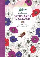 RHS Postcards to Colour