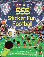 555 Sticker Fun Football - 555 Sticker Fun (Paperback)
