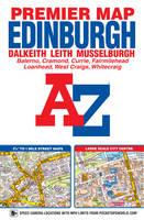 Edinburgh Premier Map - A-Z Premier Street Maps (Sheet map, folded)