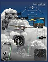Instrument Flying Handbook (FAA-H-8083-15a) (Revised Edition) (Paperback)