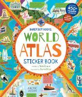 World Atlas Sticker Book (Paperback)