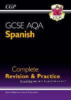 GCSE Spanish AQA Complete Revision & Practice (with CD & Online Edition) - Grade 9-1 Course