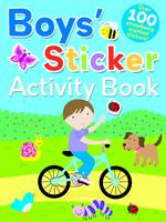 Boys Scented Sticker Activity - Scented Sticker Activity (Paperback)