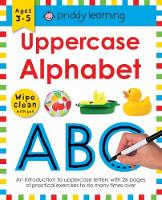Uppercase Alphabet: Wipe Clean Workbooks - Wipe Clean Workbooks (Paperback)