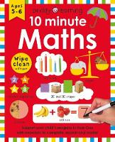 10 Minute Maths - Wipe Clean Workbooks (Paperback)