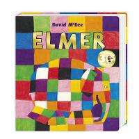 Elmer: Board Book - Elmer Picture Books (Board book)