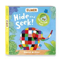 Elmer: Hide and Seek! (Board book)