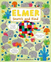 Elmer Search and Find - Elmer Picture Books (Board book)