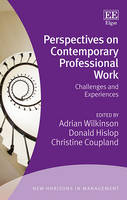 Perspectives on Contemporary Professional Work: Challenges and Experiences - New Horizons in Management series (Hardback)