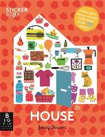 Sticker Style: House (Paperback)