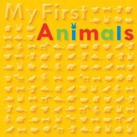 My First Animals Bubble Board Book - Bubble Buddies (Board book)