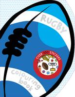 Rugby Colouring Book - Colouring and Sticker Books (Paperback)