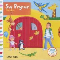 Cyfres Gwthio, Tynnu, Troi: Sw Prysur / Busy Zoo (Hardback)