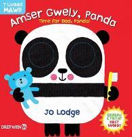 Cyfres y Llygaid Mawr: Amser Gwely Panda / Time for Bed, Panda (Hardback)