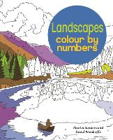 Landscapes Colour by Numbers - Arcturus Colour by Numbers Collection (Paperback)