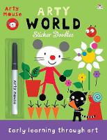 Arty World - Arty Mouse Sticker Doodles (Paperback)