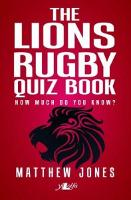 Lions Rugby Quiz Book, The (Counterpacks) (Paperback)