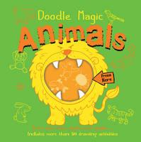 Doodle Magic Animals (Hardback)