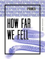 How Far We Fell - Primer Issue 2: 2: The doctrine of sin - Primer 2 (Paperback)