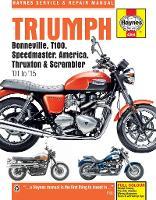 Triumph Bonneville, T100, Speedmaster, America, Thruxton & Scrambler Service & Repair Manual