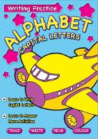 Writing Practice Book Alphabet Capital Letters (Paperback)