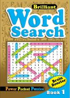 Brilliant Word Search Book 1: Activity Book (Paperback)
