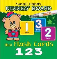 Small Hands Kiddies' Board 123: Mini Flash Cards