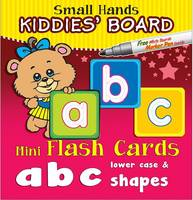 Small Hands Kiddies' Board abc lower case & shapes: Mini Flash Cards