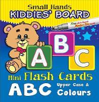 Small Hands Kiddies' Board ABC Upper Case & Colours: Mini Flash Cards