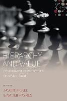 Hierarchy and Value: Comparative Perspectives on Moral Order - Studies in Social Analysis 7 (Paperback)