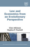 Law and Economics from an Evolutionary Perspective - New Horizons in Institutional and Evolutionary Economics series (Hardback)