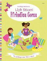 Llyfr Sticeri Ffrindiau Gorau (Paperback)