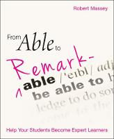 From Able to Remarkable