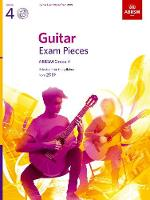 Guitar Exam Pieces from 2019, ABRSM Grade 4, with CD: Selected from the syllabus starting 2019 - ABRSM Exam Pieces (Sheet music)