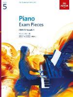 Piano Exam Pieces 2021 & 2022, ABRSM Grade 5