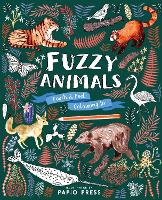 Fuzzy Animals: Touch and Feel Colouring In (Paperback)