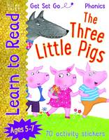 Get Set Go Learn to Read: Three Little Pigs (Paperback)