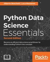 Python Data Science Essentials - (Paperback)