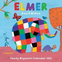 Elmer Wall Calendar 2018 (Art Calendar)