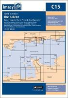 Imray Chart C15: The Solent - Bembridge to Hurst Point and Southampton - C Series 15 (Sheet map, folded)