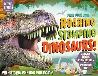 Paint Your Own Roaring Stomping Dinosaurs!