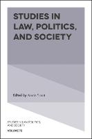 Studies in Law, Politics, and Society - Studies in Law, Politics, and Society 72 (Hardback)