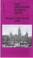 Glasgow (High Street) 1895: Lanarkshire Sheet 6.11A - Old Ordnance Survey Maps of Lanarkshire (Sheet map, folded)