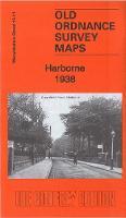 Harborne 1938 - Old Ordnance Survey Maps of Warwickshire (Sheet map, folded)