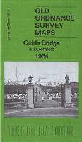Guide Bridge & Dukinfield 1934: Lancashire Sheet 105.10C - Old Ordnance Survey Maps of Lancashire (Sheet map, folded)