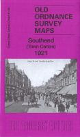 Southend Town Centre 1921: Essex Sheet 91.02 - Old Ordnance Survey Maps of Essex (Sheet map, folded)