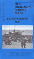 Southend Seafront 1921: Essex Sheet 91.06 - Old Ordnance Survey Maps of Essex (Sheet map, folded)